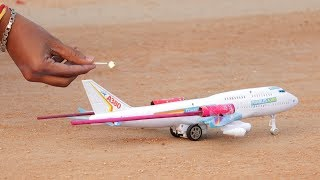 Rocket Vs Airplane | Indian Crackers Experiment | Whatanidea