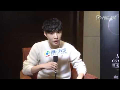 161124 EXO Lay Zhang Yixing 张艺兴 @ Tencent QQ Interview