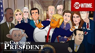 Our Cartoon President (2018) | Teaser Trailer | Stephen Colbert SHOWTIME Series