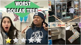 GOING TO THE WORST REVIEWED DOLLAR TREE IN MY CITY (1 STAR)