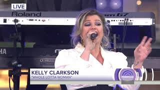 Kelly Clarkson - Whole Lotta Woman (The Today Show) 10/11/2018