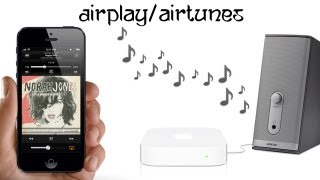 How To Wirelessly Stream Sound/Music To Your Speaker Using Airport Express?