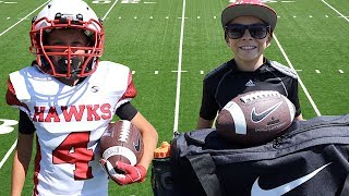 🏈NEW Game Day Football Gear Unboxing 🏈