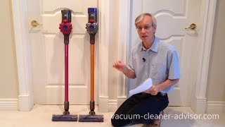 Dyson V7 vs V8 - Which should you buy?