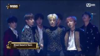MAMA2016 - BTS - Blood Sweat & Tears YouTube 影片