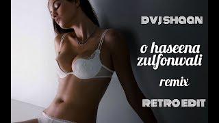 O Haseena Zulfonwali Remix   Dvj shaan   shammi kapoor   retro song