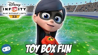 The Incredibles Disney Infinity 3.0 Toy Box Fun Gameplay with Violet