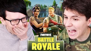 Can Dan and Phil survive Fortnite?!