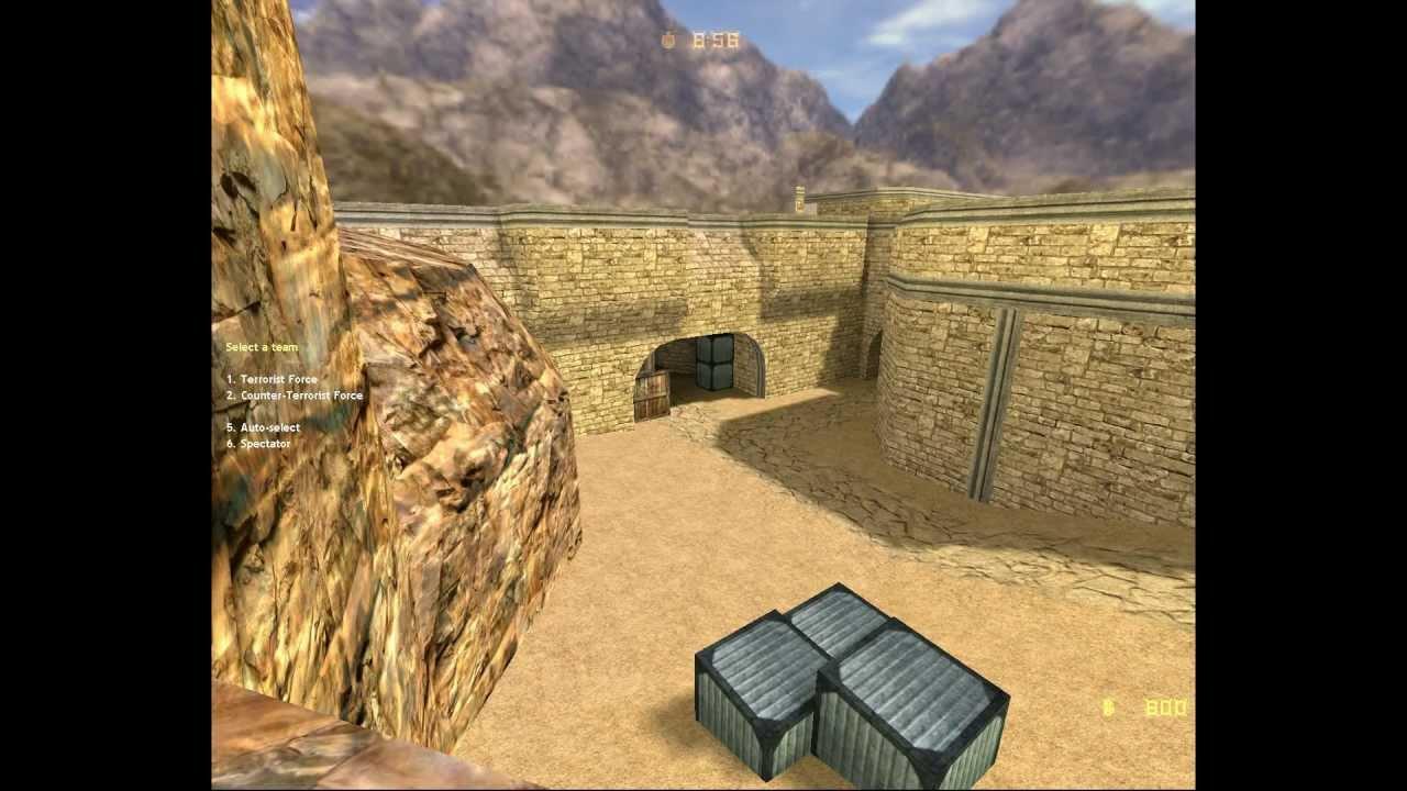 ... counter strike mini dust2 map