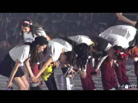 [fx家族] 131225 f(x) - SMTown Week ending