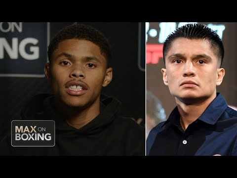 Shakur Stevenson on Joet Gonzalez: He's a hater | Boxing on ESPN