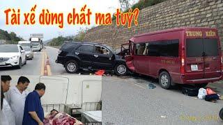 Tài xế xe fortuner đ,âm xe khách ở Lào cai sử dụng rượu và m a t,uý