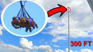 ViralBrothers - WORLD'S TALLEST SWING! *Over 300 feet* - Zdroj: