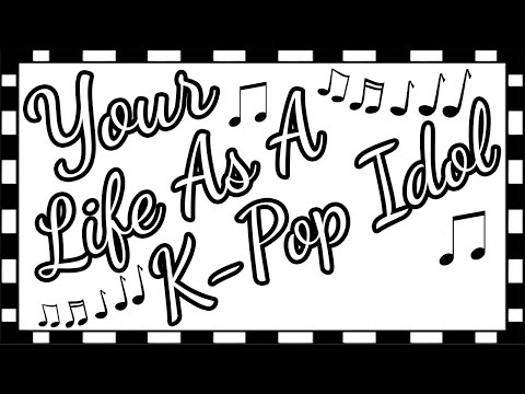 Your Life As A K-Pop Idol Door Game~