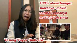 Yesung of Super Junior 'Paper Umbrella' (Tipsy Live) | vocal coach reaction