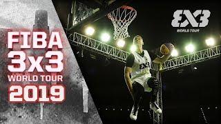 Dunk Contest Highlights   FIBA 3x3 World Tour 2019 - Doha Masters