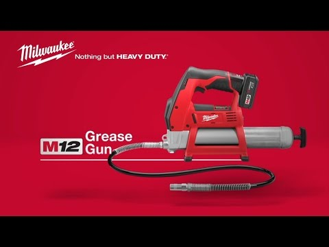 Milwaukee M12GG-0 12 Volt cordless grease gun (body only)