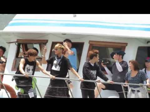 130702 EXO filming in Hong Kong - Tsim Sha Tsui