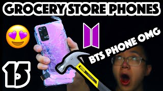 Bored Smashing - GROCERY STORE PHONES! Episode 15