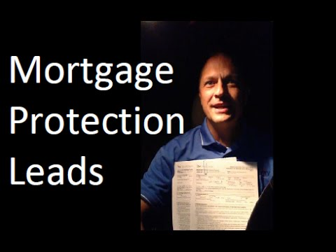 Mortgage Protection Leads | Tonight's Insurance Sale