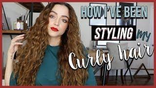 HOW I CURL MY HAIR | Fun lil Hair Tutorial!!