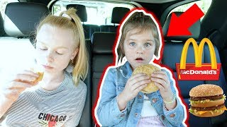 VEGAN KiD'S FiRST MCDONALDS **FAiL**!! 🍔