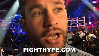 CHRIS ALGIERI REACTS TO SPENCE DOMINATING GARCIA; GIVES PACQUIAO SAME WARNING HE GAVE MIKEY