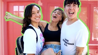 I FLEW TO LA TO SURPRISE MY BEST FRIENDS!! (THEY HAD NO IDEA!)