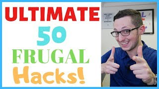 🤯💰50 FRUGAL LIVING TIPS to Save Money! | MINIMALIST Living Tips (Ultimate Guide!)
