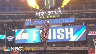 Supercross Round #16 at New Jersey | EXTENDED HIGHLIGHTS | 4/27/19 | Motorsports on NBC