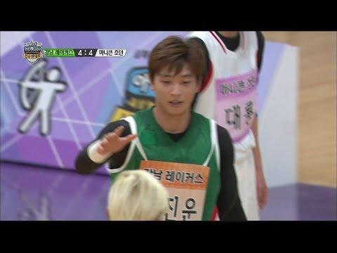 [IDOL SPECIAL] 설특집 2015 아이돌 육상 농구 풋살 양궁 선수권 대회 2부 - Jinwoon, coats rating 진운, 코트 평정 20150220