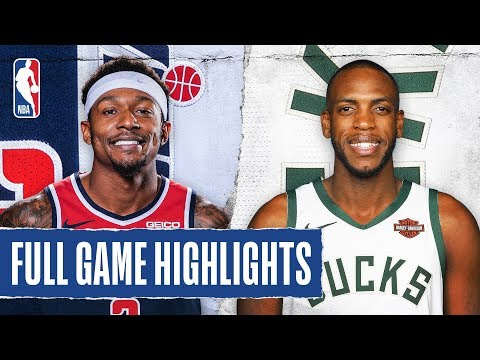 WIZARDS at BUCKS | FULL GAME HIGHLIGHTS | January 28, 2020