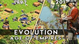 The Evolution Of Age Of Empires  | 1997-2017 | - YouTube