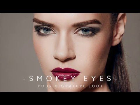 Jane Iredale Signature Look- Smokey Eyes