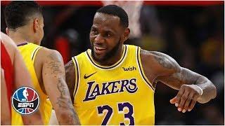 LeBron James fuels Lakers' 2nd-half comeback win vs. Bulls | NBA Highlights