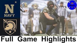 Army Navy Game Highlights 2020 | College Football Week 15 | 2020 College Football Highlights