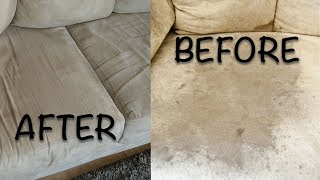 HOW TO CLEAN YOUR MICROFIBER COUCH| WINDEX | GLASS CLEANER