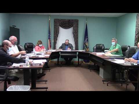 Champlain Town Board Meeting  10-12-21