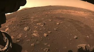 Mars rover Perseverance goes for its first test drive on the Red Planet