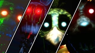 The Joy of Creation Reborn Series All Jumpscares