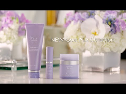Moisturize & Glow with Kate Somerville's Goat Milk Collection, featuring Katherine Schwarzenegger