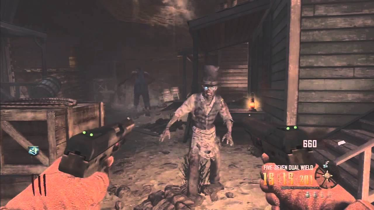 Black Ops 2 Zombies Buried Leroy Building Ability - BO2 How To Get Leroy To Build Equipment TUTORIAL - Smashpipe Games Video