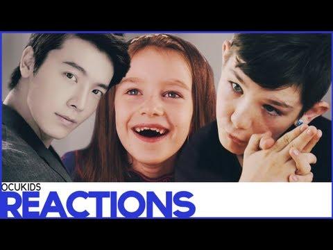 British Kids React to   Girls Generation and Super Junior (EP34 Reactions)   ocUKids Kpop #1