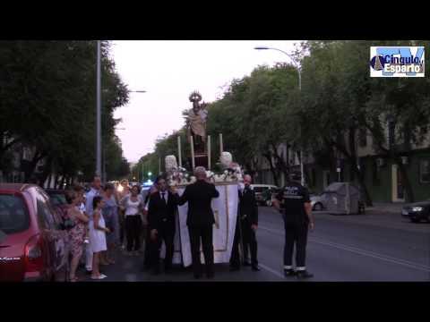 Procesión de la Virgen del Carmen de Santa Teresa