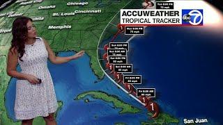 Hurricane Isaias: Latest track as storm moves toward Florida