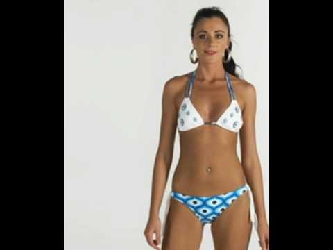 Slim athletic model wears Brazilian bikini Traira 09