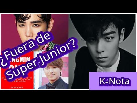 ¿Porqué las fans coreanas odian a Sungmin y a KangIn de SuperJunior ? Actualización acerca de T.O.P.