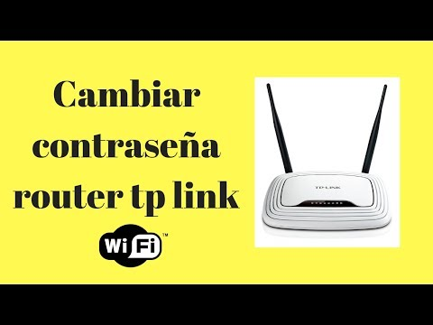 Cambiar Contraseña wifi  a Router TP-LINK N