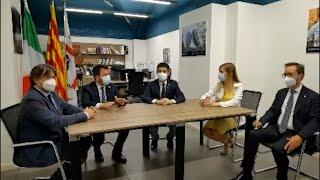 Puigdemont reaparece tras salir de la cárcel y centra el debate político