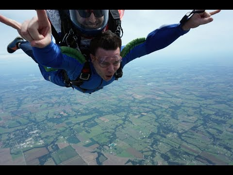 David Haney Skydiving at Skydive Spaceland Dallas Texas